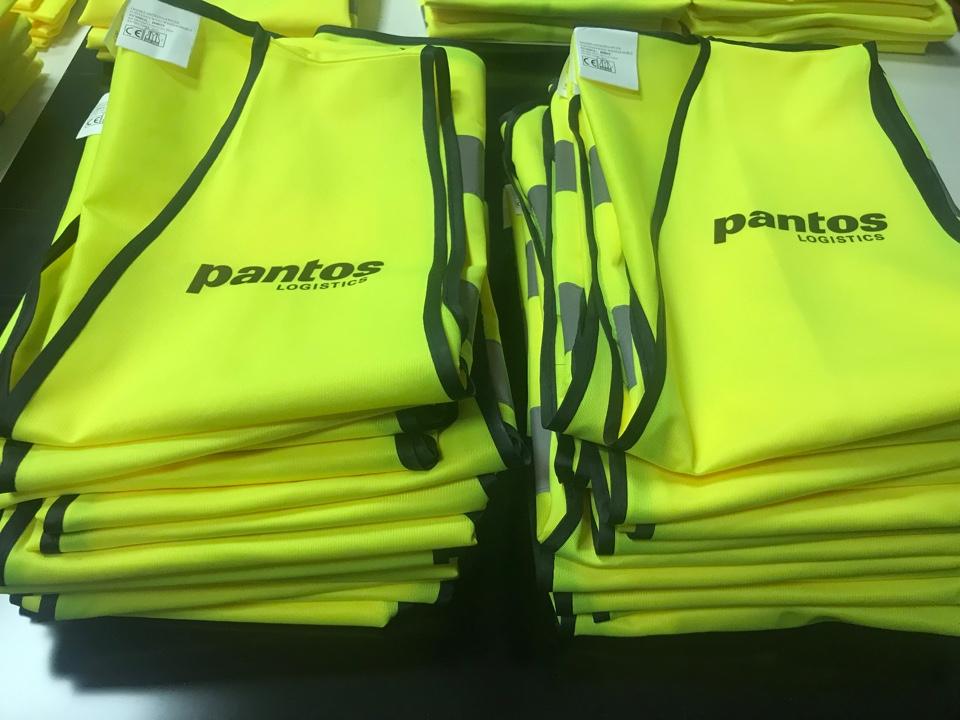 Logowanie odzieży dla firmy Pantos