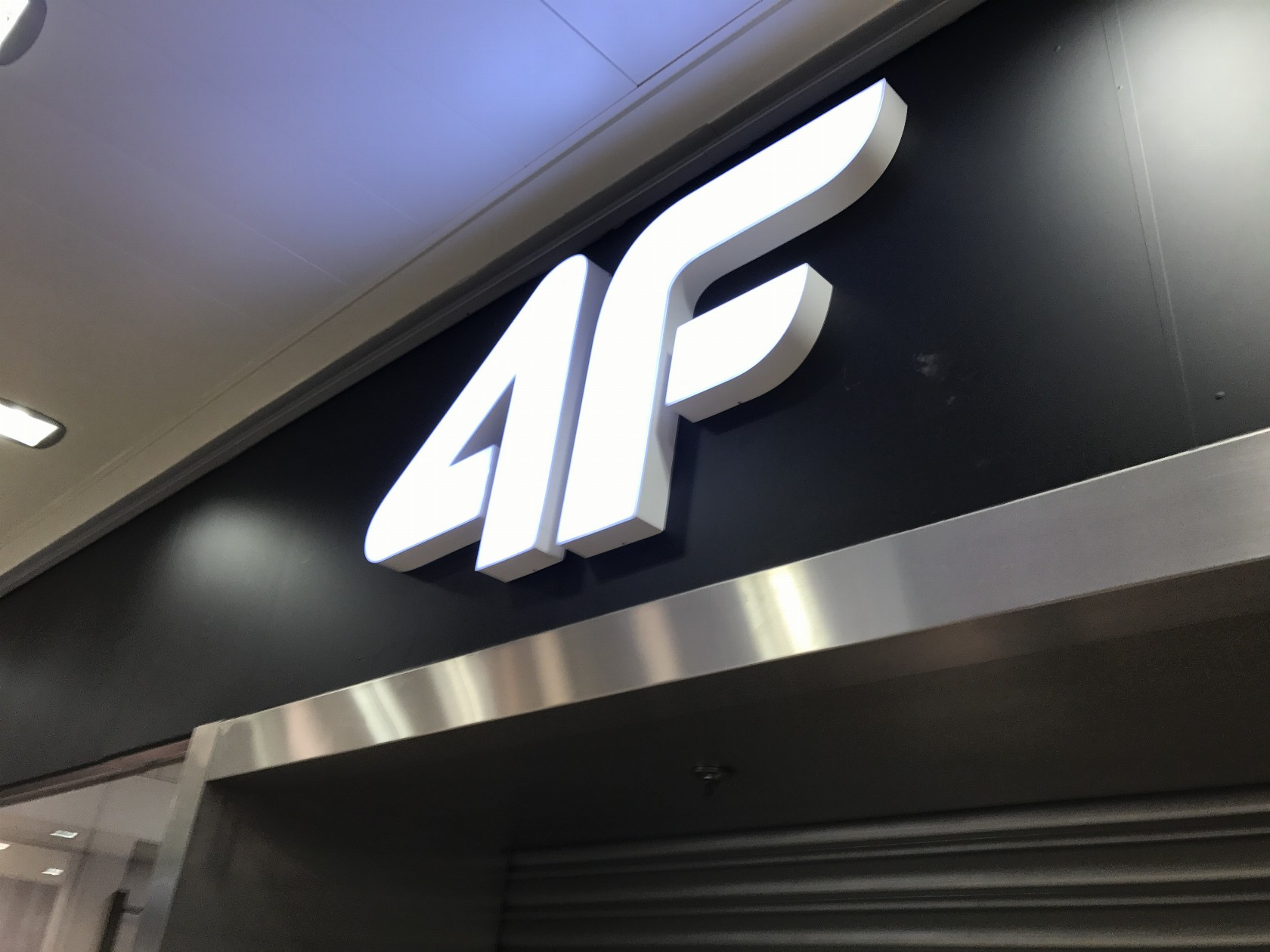 Logo 3D podświetlane